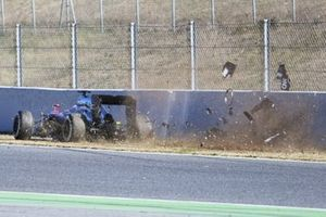 Accidente de Fernando Alonso, McLaren MP4-30