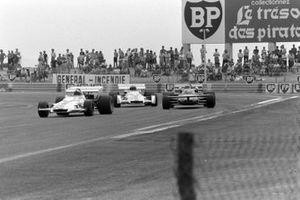 Pedro Rodriguez, BRM P160, Nanni Galli, March 711 Ford, Jo Siffert, BRM P160, GP di Francia del 1971