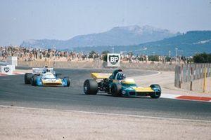Graham Hill, Brabham BT34 Ford, Chris Amon, Matra MS120B, GP di Francia del 1971