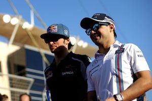 Felipe Massa e Carlos Sainz Jr, GP do Bahrein 2016