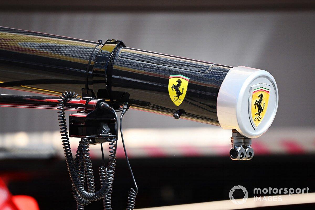 Детали оборудования Ferrari для пит-стопов