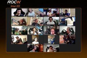 Alle Teilnehmer des ROC virtuell