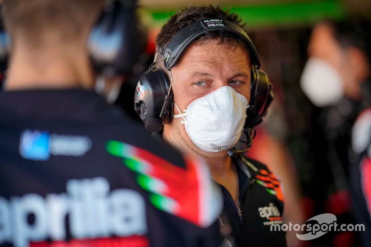 Miembro del Aprilia Racing Team Gresini