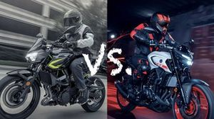 Yamaha MT-03 vs Kawasaki Z400