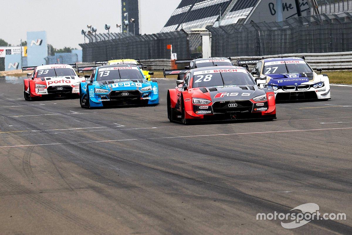 Loic Duval, Audi Sport Team Phoenix, Audi RS 5 DTM, Fabio Scherer, Audi Sport Team WRT, Audi RS 5 DTM, Philipp Eng, BMW Team RBM, BMW M4 DTM