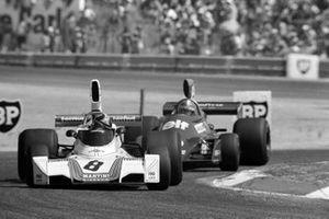 Carlos Pace, Brabham BT44B, Jean-Pierre Jabouille, Tyrrell 007