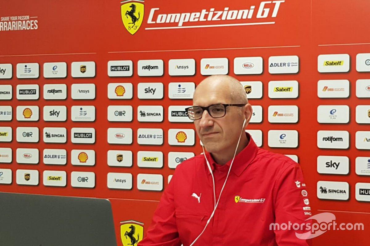 Ferdinando Canizzo, Ferrari