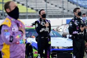 Jimmie Johnson, Hendrick Motorsports Chevrolet stands for national anthem