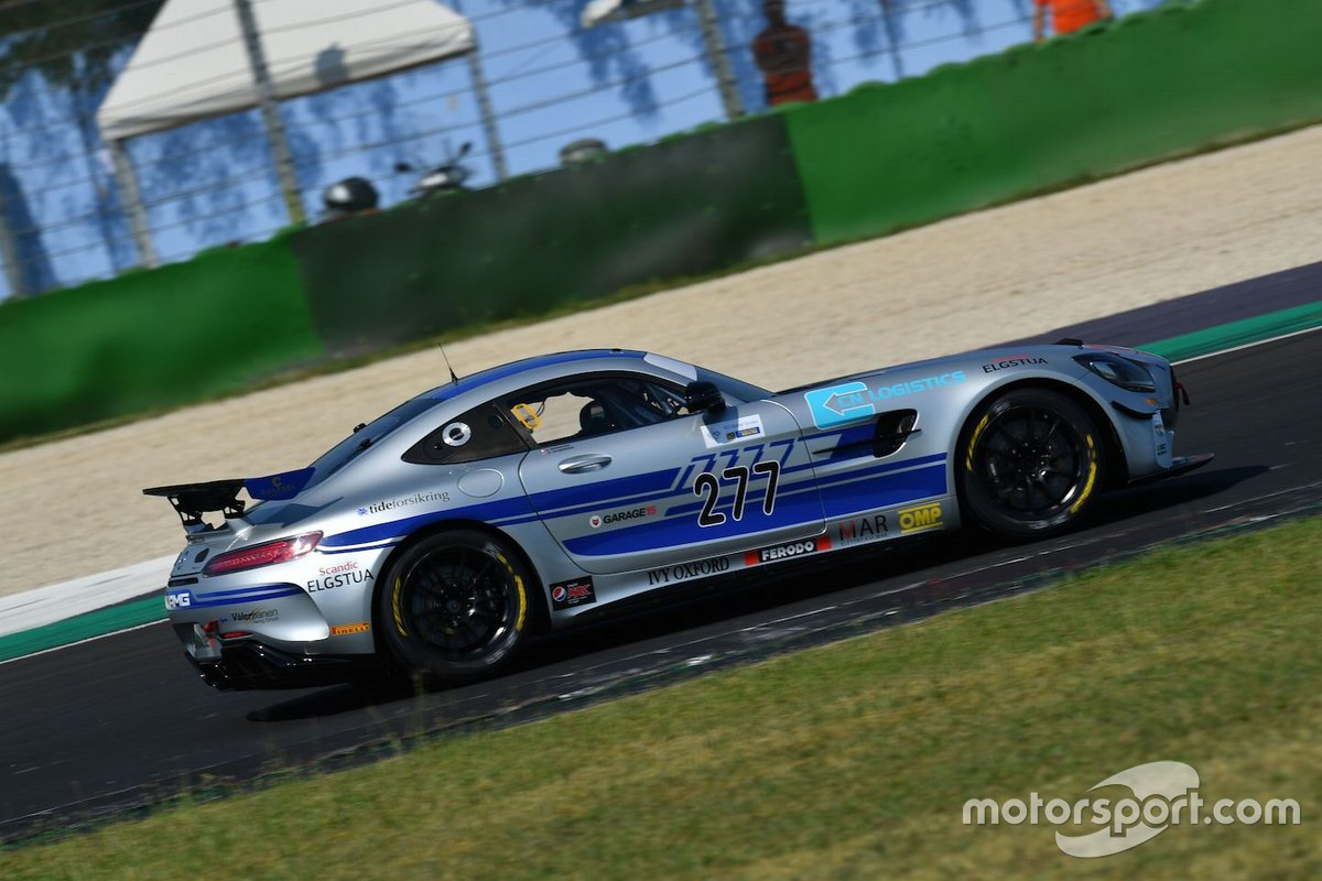 Luca Magnoni, Nova Race Events, MERCEDES AMG GT4