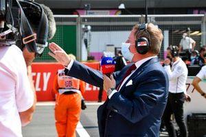 Мартин Брандл, Sky TV, на стартовой решетке
