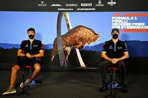 George Russell en Nicholas Latifi, Williams Racing