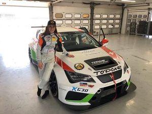 Karen Gaillard, CUPRA TCR, Topcar Sport