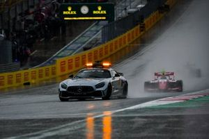 Hevige regenval tijdens F3-race Spielberg