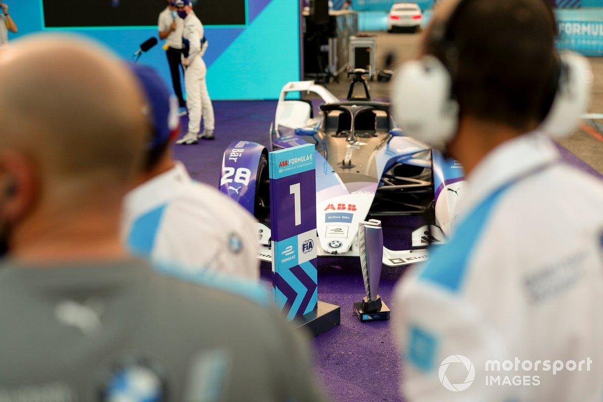 El monoplaza de Maximilian Gunther, BMW I Andretti Motorsports, 1ª posición