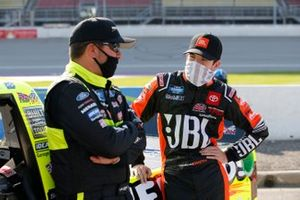 Matt Crafton, ThorSport Racing, Ford F-150 Jack Links / Menards Chandler Smith, Kyle Busch Motorsports, Toyota Tundra JBL
