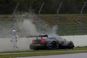 Сход: Даниэль Хункаделья, R-Motorsport, Aston Martin Vantage AMR