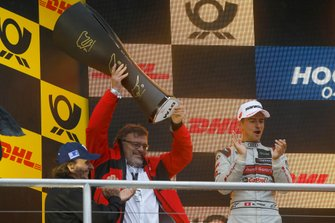 Champion ship Podium: Manufacturer winner Hans-Joachim Rothenpieler, Member of the board, Audi AG