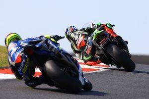 Leon Haslam, Kawasaki Racing Team, Sandro Cortese, GRT Yamaha WorldSBK