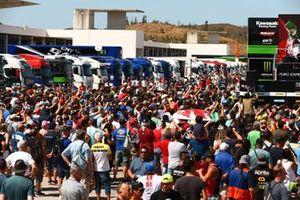Fan alla gara 1 ad Algarve
