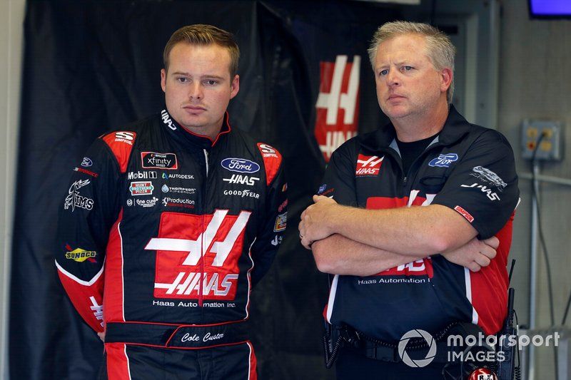 Cole Custer, Stewart-Haas Racing, Ford Mustang Haas Automation