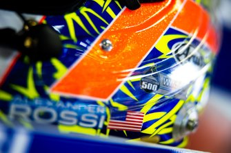 Helmet of Alexander Rossi, Walkinshaw Andretti United Holden