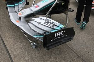 Mercedes F1 AMG W10 front wing detail