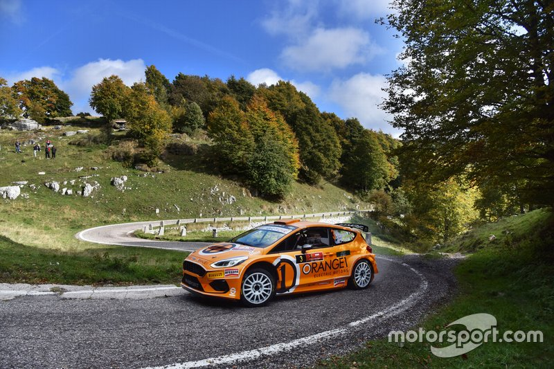 Simone Campedelli, Tania Canton, Orange1 Racing, Ford Fiesta R5