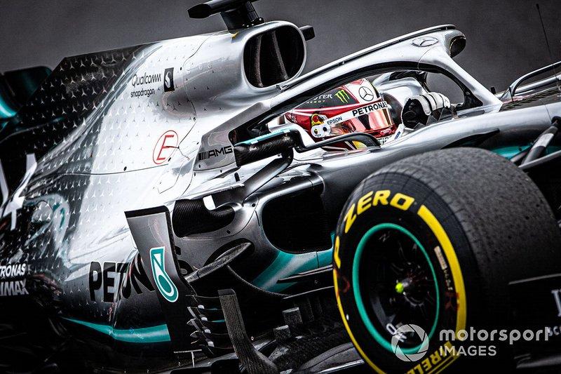 Almanya: Lewis Hamilton, Mercedes AMG
