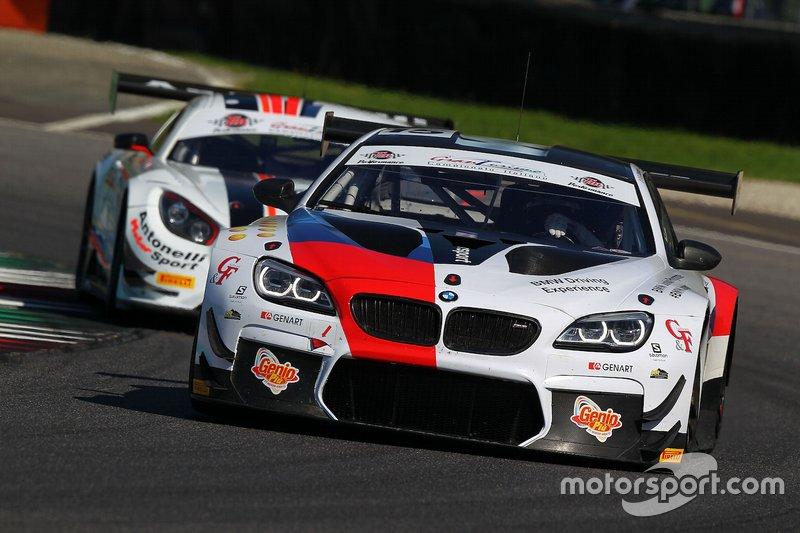 #15 BMW M6 GT3 PRO, BMW Team Italia: Comandini-Johansson-Zanardi
