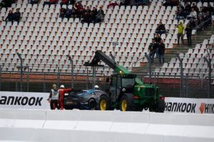 Paul Di Resta, R-Motorsport, Aston Martin Vantage AMR after his crash