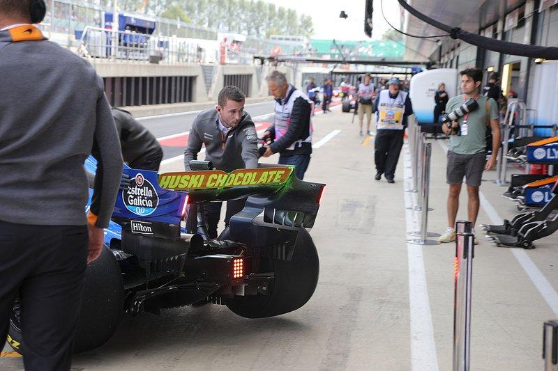 Diffuseur de la McLaren MCL34