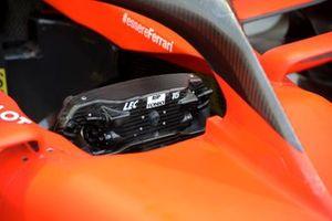 El volante de Charles Leclerc, Ferrari SF90