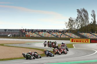 Start der Superbike-WM 2019 in Magny-Cours: Jonathan Rea, Kawasaki Racing Team, führt