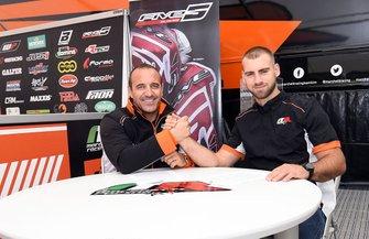 Elio Marchetti en Brian Bogers