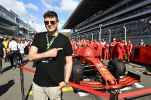 Musician and Song Writer John Newman on the grid