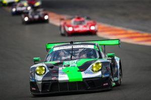 #540 Black Swan Racing Porsche 911 GT3 R, GTD: Marc Miller, Marco Seefried, Dirk Werner