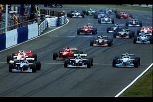 Jacques Villeneuve, Williams y Damon Hill, Williams
