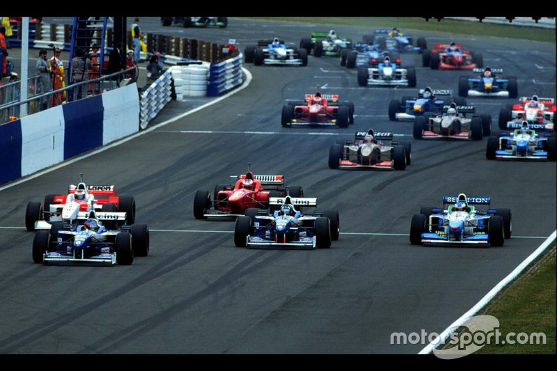 Jacques Villeneuve, Williams en Damon Hill, Williams