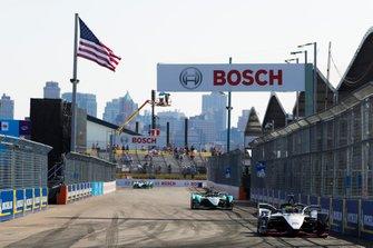 Oliver Rowland, Nissan e.Dams, Nissan IMO1 Alex Lynn, Panasonic Jaguar Racing, Jaguar I-Type 3