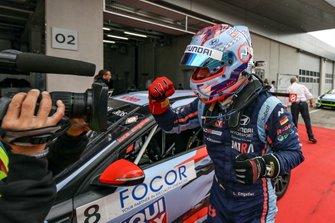 Race winner Luca Engstler, M1RA Motorsport Hyundai i30 N TCR