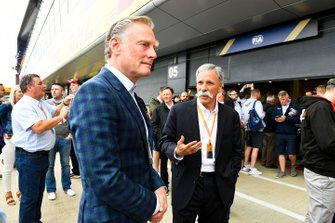 Sean Bratches, Managing Director of Commercial Operations, Formula One Group, and Chase Carey, Chairman, Formula 1