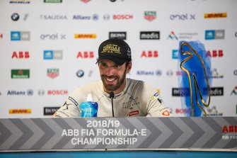 Championship winner Jean-Eric Vergne, DS TECHEETAH in the press conference