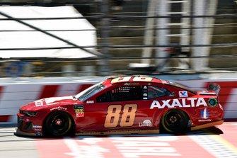 Alex Bowman, Hendrick Motorsports, Chevrolet Camaro Axalta Throwback