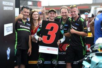 Третє місце Нік Калінін, Nutec - RT Motorsports by SKM - Kawasaki