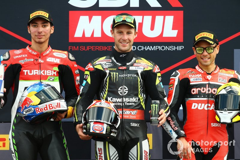 Toprak Razgatlioglu, Turkish Puccetti Racing, Jonathan Rea, Kawasaki Racing Team, Alvaro Bautista, Aruba.it Racing-Ducati Team