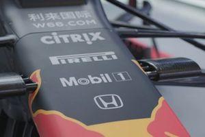 Detalle del Red Bull RB15