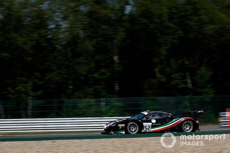 #52 AF Corse Ferrari 488 GT3: Niek Hommerson, Louis Machiels, Andrea Bertolini, Toni Vilander