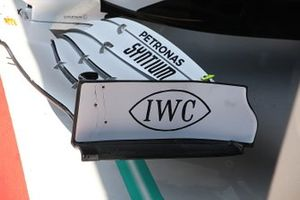 Mercedes AMG F1 W10 front wing detail