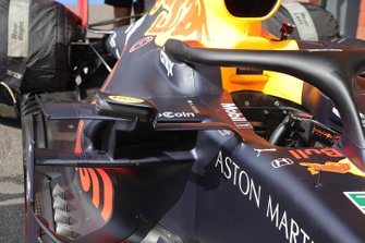 Red Bull Racing RB15 mirror detail