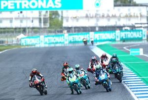 Moto3-Action in Buriram: Albert Arenas, Ángel Nieto Team, führt